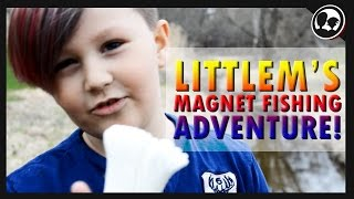 LITTLEM'S MAGNET FISHING ADVENTURE!