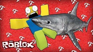 Download Roblox: Shark Bite Game Survival, Huge Megalodon, Flood