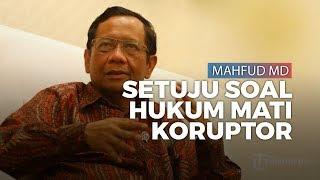 Soal Hukuman Mati Bagi Koruptor, Menko Polhukam Mahfud MD Nyatakan Setuju sejak Lama