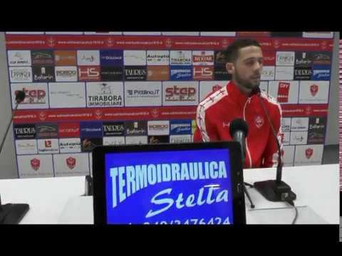 Sala stampa Triestina-Virtus Verona: Angelo Tartaglia