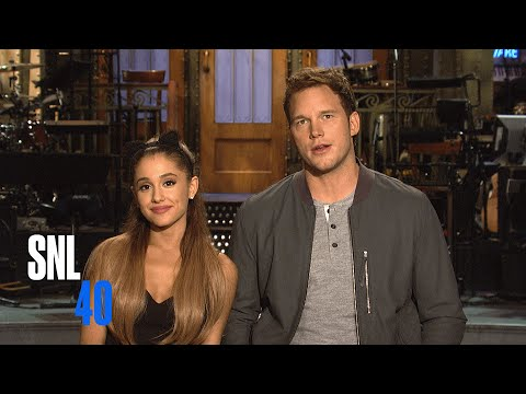 SNL Promo: Chris Pratt and Ariana Grande