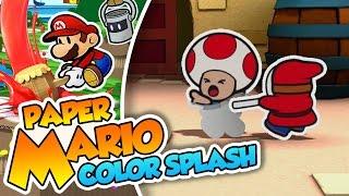 Los Vampiros Shyguy!  - #01 - Paper Mario Color Splash (Wii U) en Español