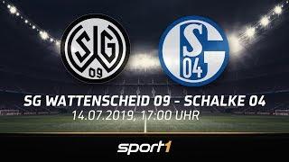 """Retterspiel"" ReLIVE: SG Wattenscheid 09 - FC Schalke 04 🔴 |  SPORT1"