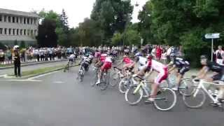 preview picture of video '71 Tour de Pologne -  ostry wiraż: Jaworzno.'