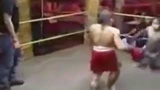 Бокс с карликами нокаут драка