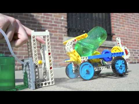 Youtube Video for Air & Water Power - Build a Hydraulic Engine