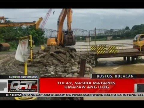 [GMA]  Tulay, nasira matapos umapaw ang ilog