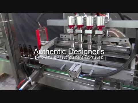 Automatic Pesticide Liquid Filling Line