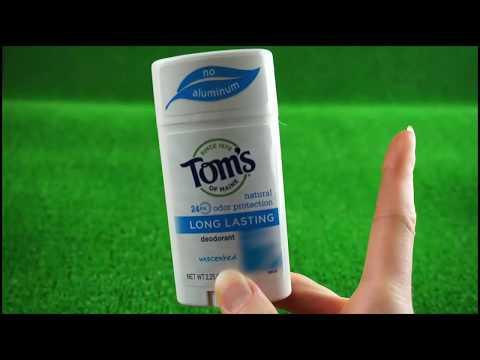 Отзыв на натуральный дезодорант Tom's of Maine без запаха