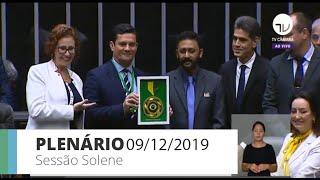 Plenário - Homenagem ao Dia Internacional Contra a Corrupção - 09/12/2019 09:00