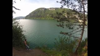 preview picture of video 'GoPro HD Hero 2 : cliff jumping Nantua'