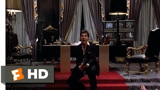 Scarface (1983)   Say Hello To My Little Friend Scene (88) | Movieclips