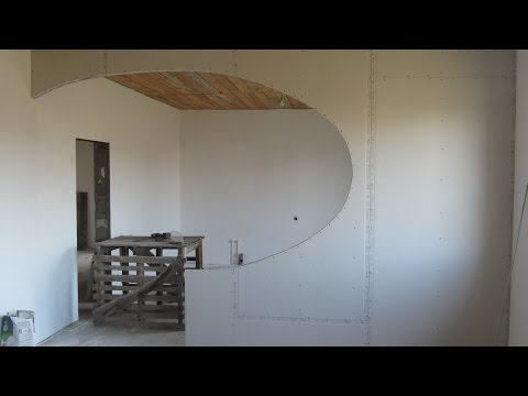 Урок Как собрать декоративную перегородку из гипсокартона