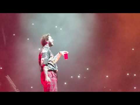 Sunflower-Post Malone ft Swae Lee Live Concert