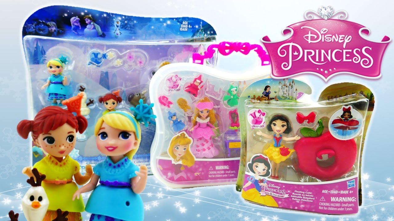 NEW Disney Princess Little Kingdom toys - Frozen Toddlers Snow White Sleeping Beauty