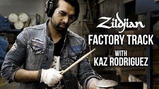 """""""Zildjian Factory"""" Track with Kaz Rodriguez"""