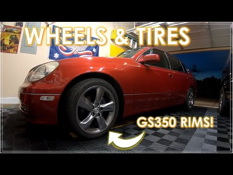 Modding a LEXUS GS300 / GS400 / GS430: What Works? EP1 [Upgraded Wheels & Tires]