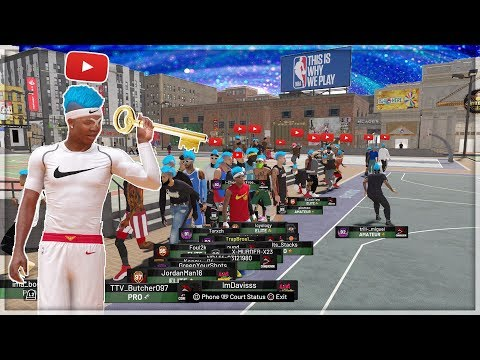 I HOSTED THE FIRST PRIVATE PARK ON NBA 2K19... #1 PLAYSHARP TAKES OVER NBA 2K19