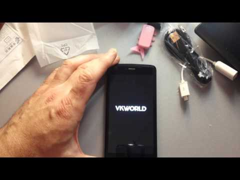Распаковка и обзор VKworld VK700 MAX 4200 мАч