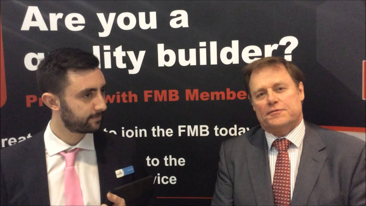 Regentsmead TV talks property development finance with FMB services director Phil Hodge