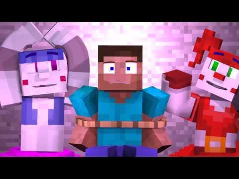 Анимация майнкрафт песня фнаф 5 (видео)