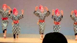 2016.4.3沖縄タイムス琉球舞踊こども芸能祭