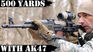 Video Vepr AK47 - 500 Yards Shooting