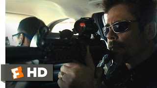 Sicario (3-11) Movie CLIP - Border Ambush (2015) HD