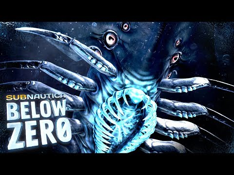THE SHADOW LEVIATHAN IS HORRIFYING - New Creatures, Biome & Shadow Leviathan - Subnautica Below Zero