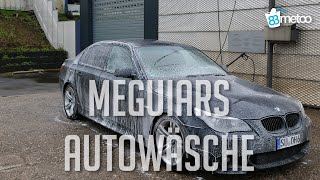 Auto waschen nur mit Meguiars Autopflege | 83metoo