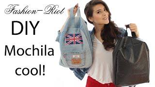 DIY Mochila De Jeans | Fashion Riot