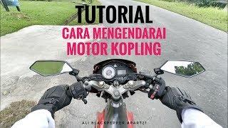 Tutorial Cara Mengendarai Motor Kopling - Motovlog Indonesia | Ali Blackpepper #part21