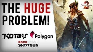 Polygon & Kotaku Attack Guild Wars 2 For Firing Game Devs Who Mocked Official Partner
