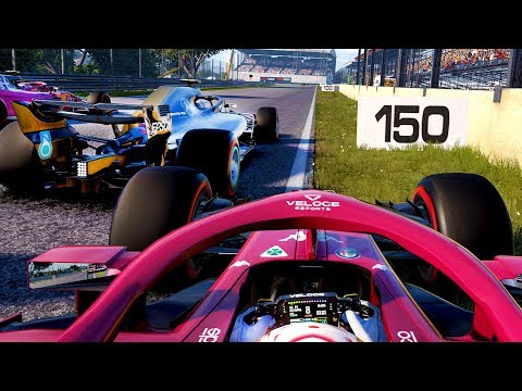 HIT BY VERSTAPPEN, TWICE! CHAMPIONSHIP SWING?! - F1 2018 Career Mode Part 167
