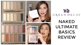 Urban Decay Naked Ultimate Basics Palette Review + Comparison + Dupes | Bailey B.