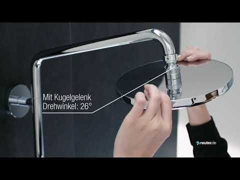 """Produktvideo Hansgrohe Duschsystem """"Croma 220"""""""