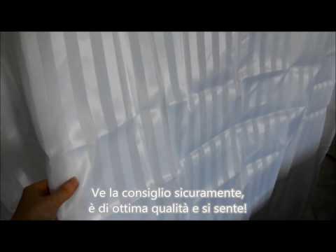 Tenda doccia in tessuto impermeabile poliestere 180X180 Tatkraft Harmony