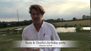 Rosie & Charlie's birthday party