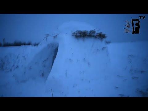 Построили снежный дом). Мелитопольский новострой.