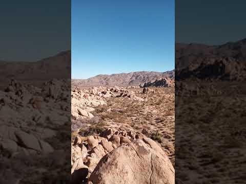 Video Of Joshua Tree/Indian Cove, CA