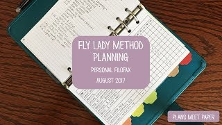 Fly Lady Method Planning | A Peek at the Week