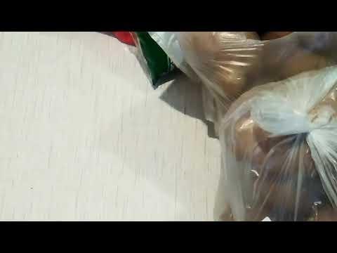 Покупки в Украине. Цена на продукты в Украине. Молоко, картошка, Шоколадные шарики, Яблоки,колбаса,