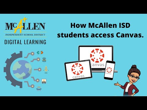 Download How McAllen ISD students find their Canvas courses Mp4 HD Video and MP3