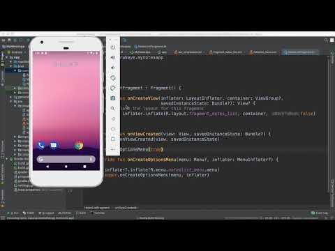 73- Android Note App||  Layout design  تصميم الواجهات