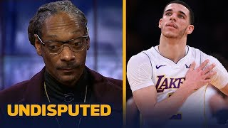 Snoop Dogg joins Skip and Shannon to talk Lonzo's rookie year with the Lakers | UNDISPUTED