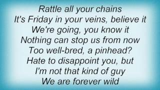 E-type - Forever Wild Lyrics