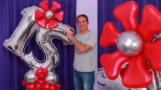 BOUQUET DE GLOBOS - Como Hacer Un Bouquet De Globos - Balloon Bouquet - Gustavo Gg