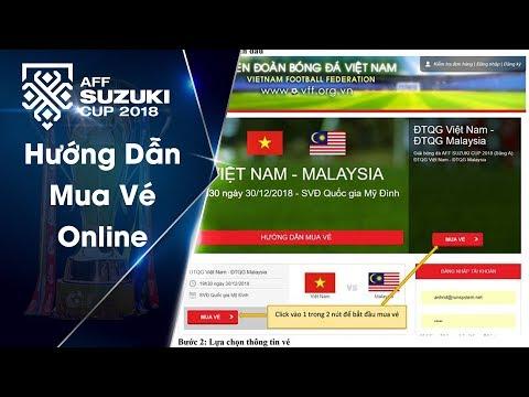 Video hướng dẫn khán giả mua vé trực tuyến qua hệ thống bán vé online của VFF