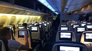 Air Canada Flight 858 Boeing 777-300ER Toronto - London   Economy Class Trip Report