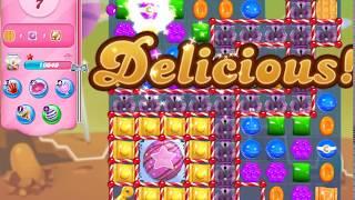 Candy Crush Saga Level 4245 (3 stars, No boosters)